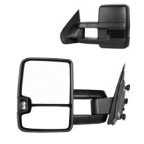 DEDC Tow Mirrors Fit for Chevy Silverado 1500 2500 3500 GMC Sierra 2015 2016 2017 A Pair