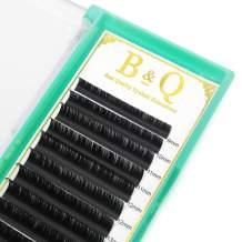 Flat lashes 0.15 0.20 Ellipse Flat Lashes C CC D DD Curl Flat lash extensions Matte BlacK Eyelash Extensions 9-16 MIX (CC-0.20, 9-16 MIX)