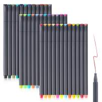 36 Colors Bullet Journaling Pens Set, Taotree Fineliner Colored Sketch Writing Drawing Pens, Porous Fine Point Pens Markers for Planner Note Taking Calendar Coloring Art Projects, Great Back to School
