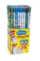 Raymond Geddes Dr. Seuss Assorted Pencils, 72 Pack (69743)