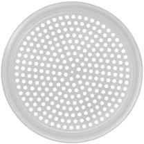 "HUBERT Pizza Screen Perforated Aluminum - 14""Dia"