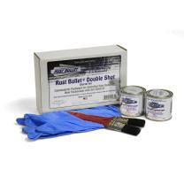 RUST BULLET Automotive - Rust Inhibitor Rust Paint ((2) 1/4 Pints)