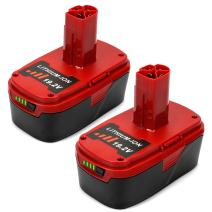 Energup 19.2V 4.0Ah Lithium Ion Replacement Battery for Craftsman C3 XCP 130211004 11045 315.115410 315.11485 Cordless Power Tools(2Pack)