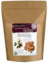 Wilderness Poets, Unpasteurized Almonds - Organic Raw Bulk Nuts - 2 Pound (32 Ounce)