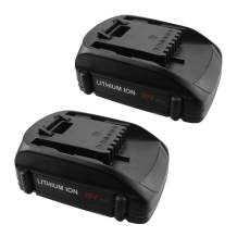 2Packs Replacement for Worx 20V Lithium Battery for Worx Battery WA3525 WG151s WG155s WG251s WG255s WG540s