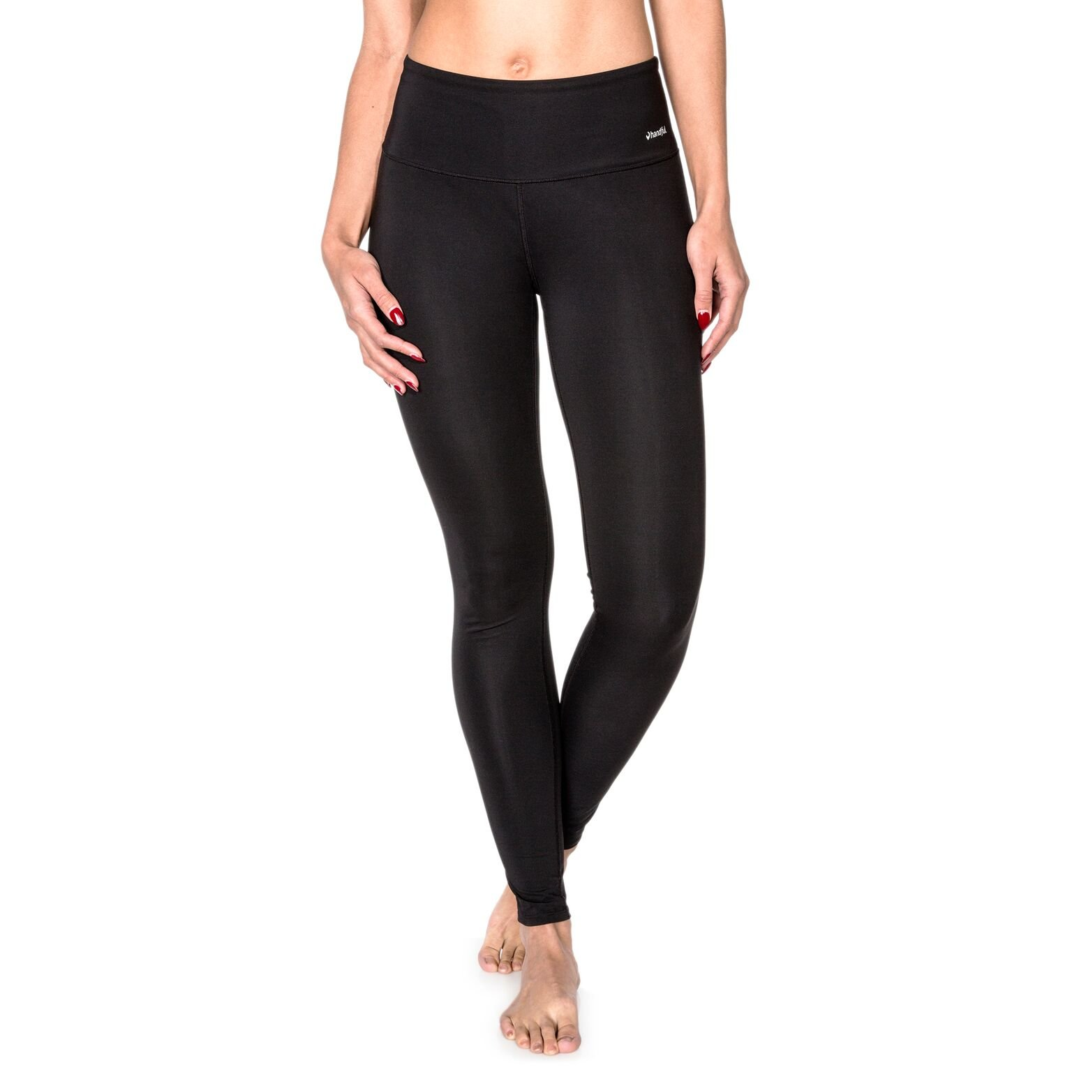 Handful Women's Squeeze Play High Waisted Workout Leggings w/Pocket, Yoga and Fitness Activewear