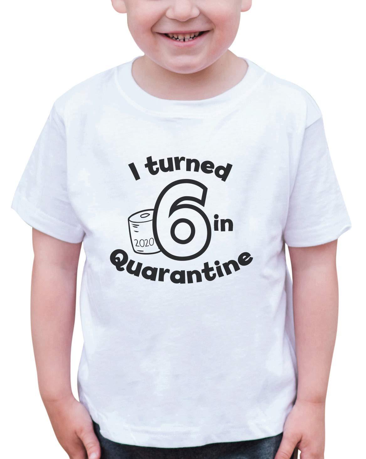 7 ate 9 Apparel Kids Six Birthday Quarantine Shirt