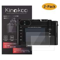 kinokoo Tempered Glass Film for Leica Q Crystal Clear Film Leica Q Screen Protector Bubble-Free/Anti-Scratch(2 Pack)
