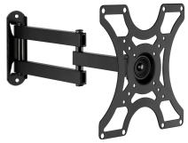 """Mount-It! TV Wall Mount Bracket with Full Motion Arm Fits 13-42"""" Flat Screen TVs VESA 75, 100, 200, 55lb Weight Capacity WITH 15"""" EXTENSION"""