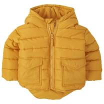 The Children's Place Boys' Baby and Toddler Shiny Puffer Jacket