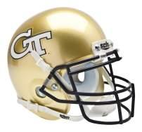 Schutt NCAA Georgia Tech Yellow Jackets Mini Authentic XP Football Helmet