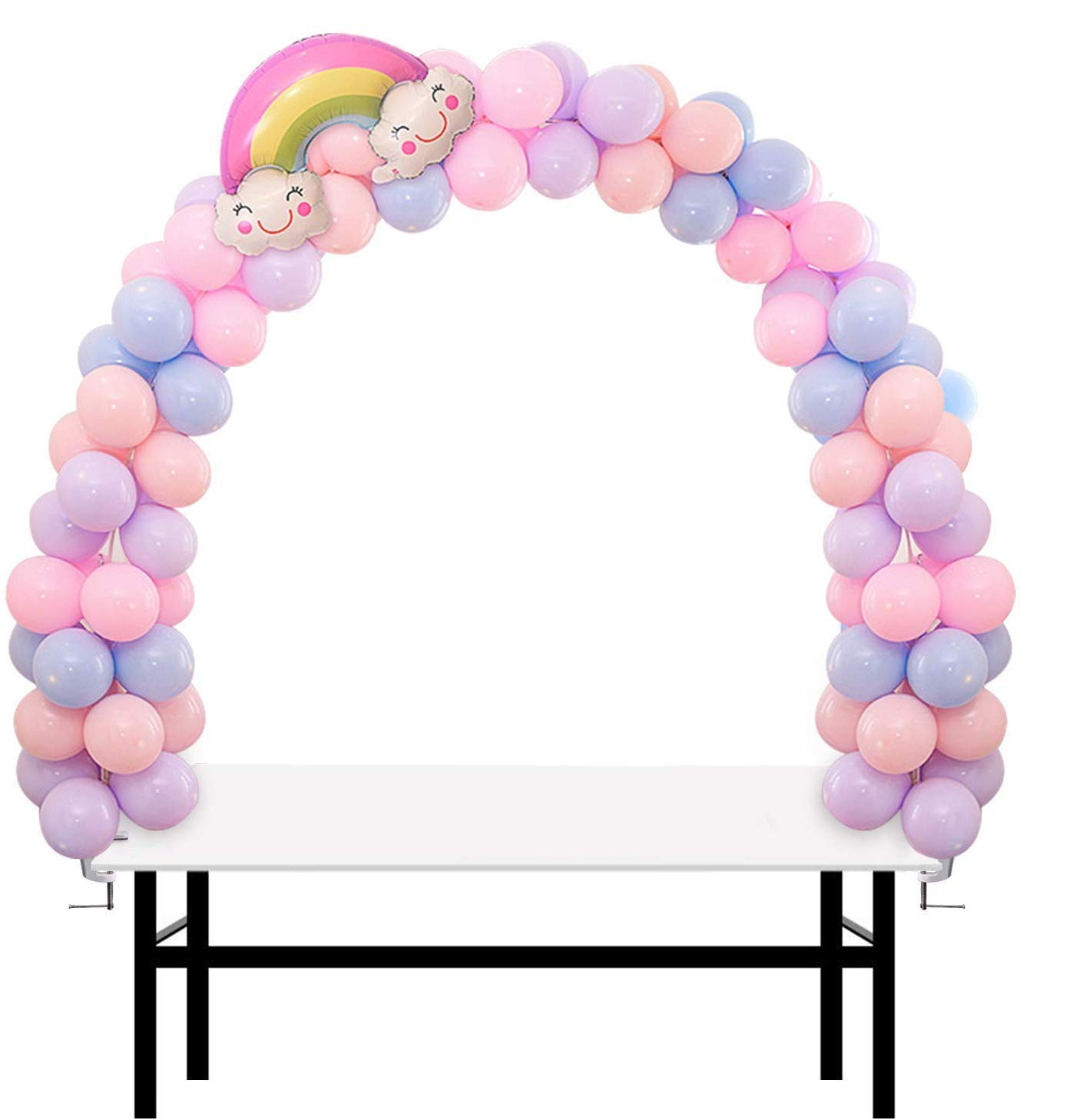 IDAODAN Table Balloon Arch Kit Adjustable [2020 Upgraded] for Baby Shower, Birthday, Wedding, Festival, Graduation Decorations and DIY Event Party Supplies