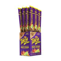 Cattleman's Cut Takis Fuego Meat Sticks, 1 Ounce (Pack of 12)