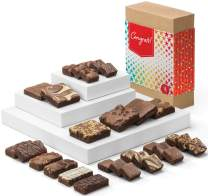 Fairytale Brownies Congratulations Deluxe Medley Gourmet Chocolate Food Gift Basket for New Home Anniversary New Baby and More - Full-Size, Snack-Size and Bite-Size Brownies - 30 Pieces - Item CG325