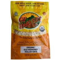 GF Harvest Organic Gluten Free Rolled Oats, 20 Ounce Bag