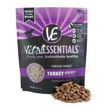 Vital Essentials Freeze-Dried Mini Nibs Grain Free Limited Ingredient Dog Entree, 1 Pound Bag
