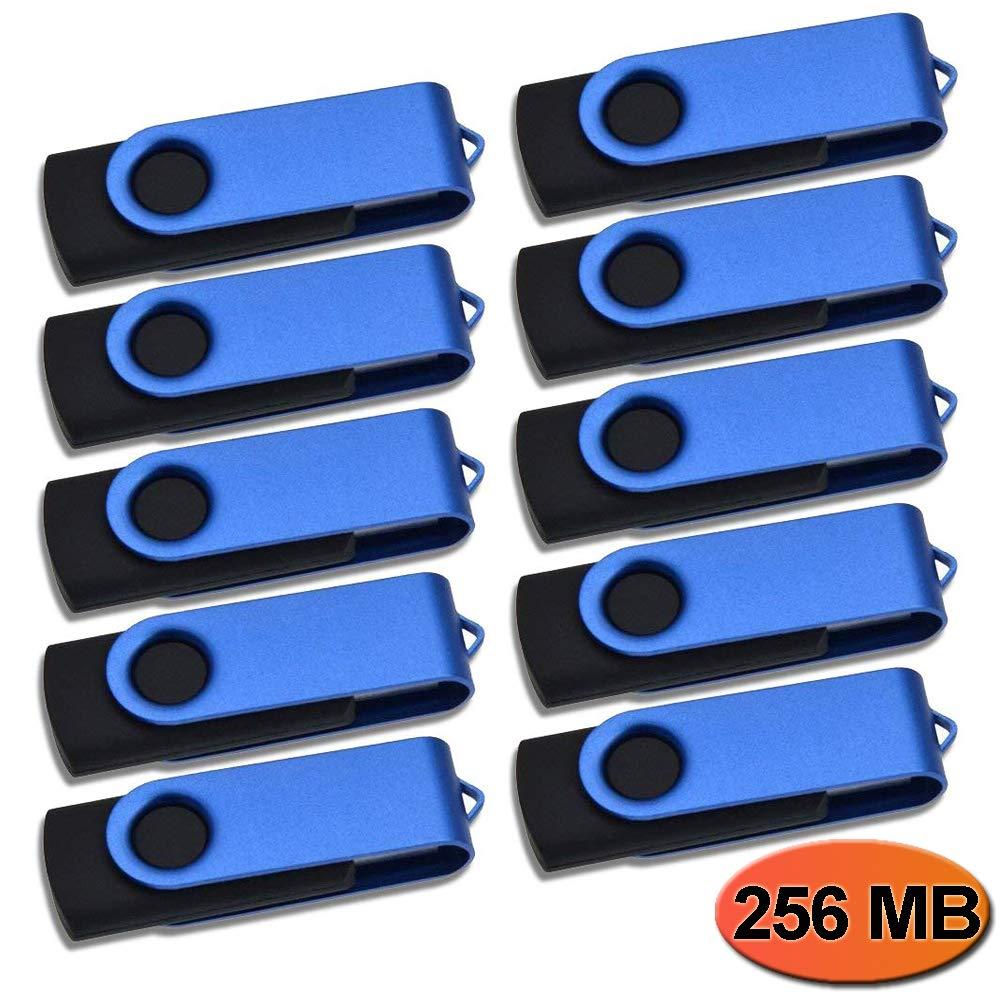 Thumb Drive 64MB Bulk Pack of 50 USB 2.0 Flash Drives Kepmem Metal Pen Drive Swivel Jump Drive Portable Memory Stick Keychain Design Zip Drive Data Storage as Company Promotional Gift