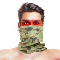 LOOGU 12-in-1 Headband Hunting Blind Tree Camo Multifunctional Seamless Bandanas Headwear