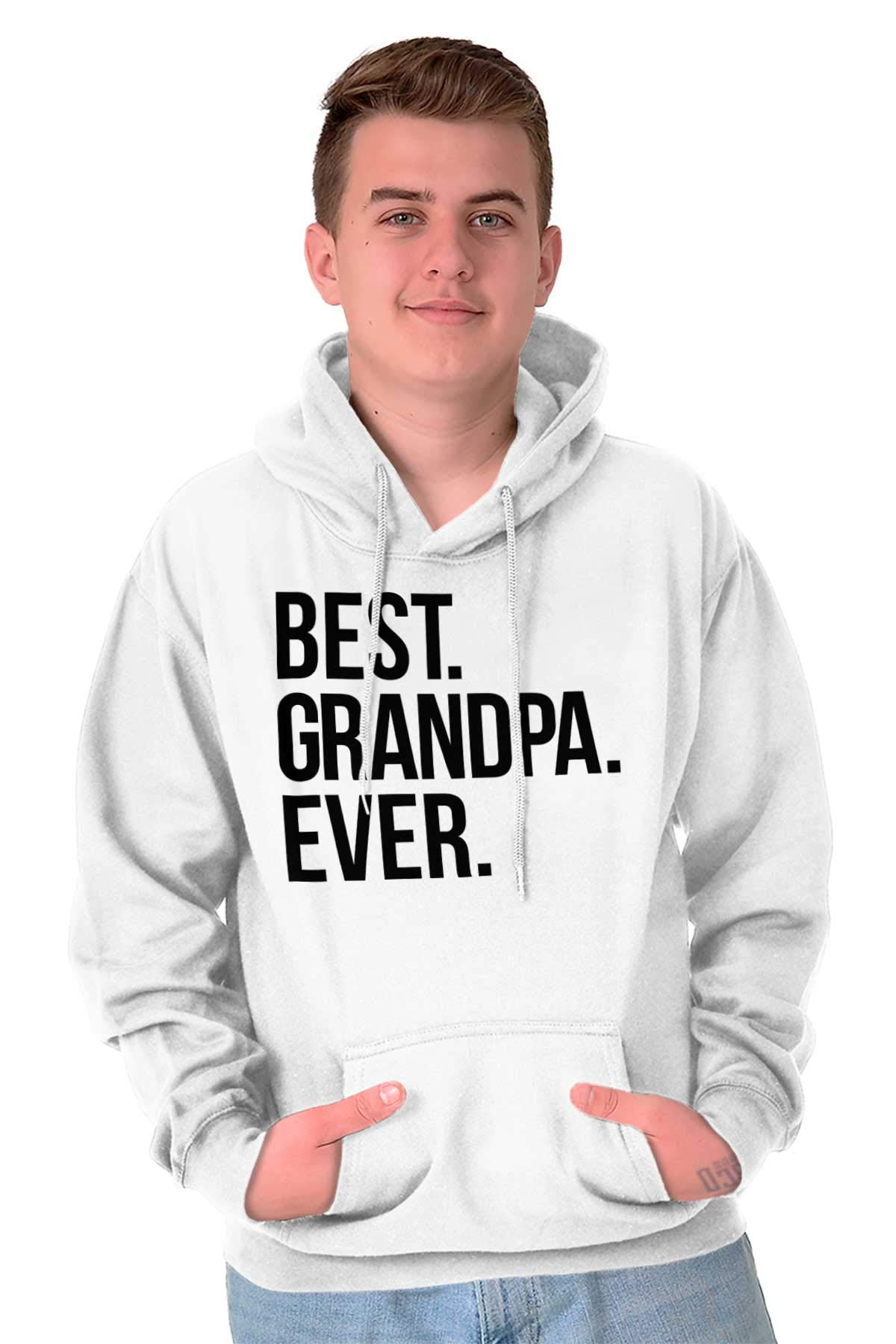 Best Grandpa Ever Fathers Day Pop Family Hoodie