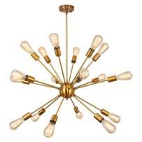 EDISLIVE 18 Light Chandelier Sputnik Mid Century Modern Ceiling Lights Hanging Pendant Light