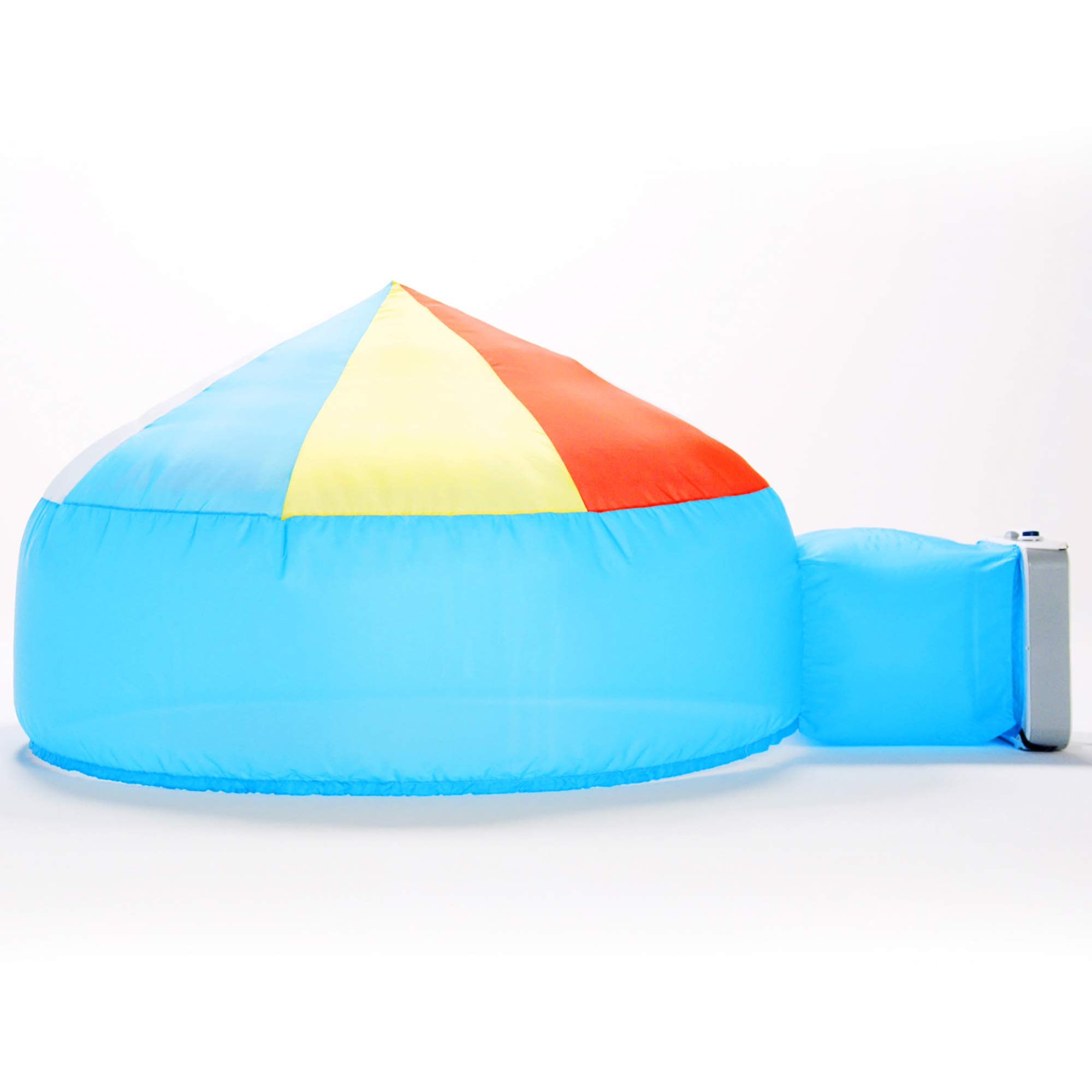 The Original AirFort Build A Fort in 30 Seconds, Inflatable Fort for Kids (Beach Ball Blue)