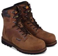 """Thorogood Men's V-Series 8"""" 400g Insulated Waterproof, Composite Safety Toe Boot"""
