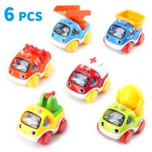 Amy&Benton Toy Cars for 1 Year Old Toddlers Boys Baby Car Toys Pull Back Cars First Birthday Gift Toys Pull Back Construction Vehicle Cars for Boys 2 3 Year Old