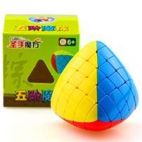 CuberSpeed Shengshou Megamorphix 5x5 stickerless Magic Cube Mastermorphix 5x5 Speed Cube SS Gigamorphix Puzzle