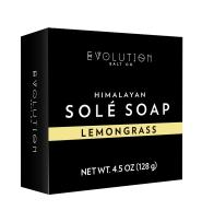 Evolution Salt - Lemongrass Himalayan Sole Bath Soap 4.5 oz