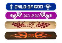 One Moment In Time 4 Pack Slap Bracelet Mormon CTR LDS