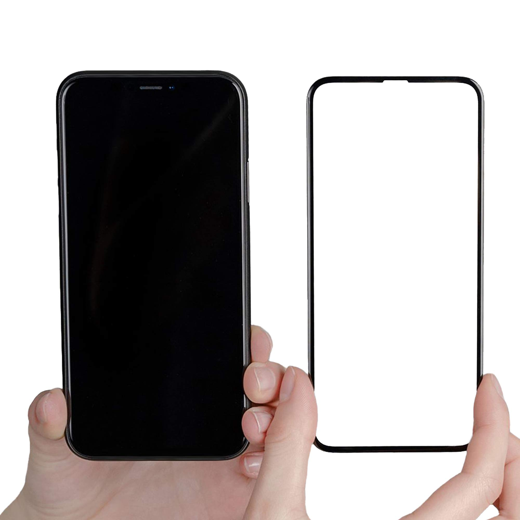 PEEL Screen Protector for iPhone 11 Pro Max | Premium Edge-to-Edge Tempered Glass Provides Protection from Impact, Drops and Scratches | Ultra Clear & Flawless Touch Screen Functionality