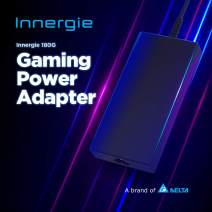 Innergie New Universal Gaming Laptop Charger 180W, Portable AC Power Adapter, Compatible with Acer/MSI/ASUS/Lenovo/HP/Chromebook and More Notebooks- 6 Ft Power Cord