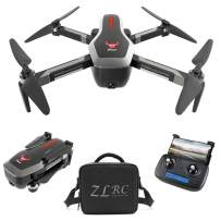 GoolRC SG906 GPS RC Drone with 4K HD Front Camera and 720P Down-Looking Camera, 5G WiFi FPV Foldable Brushless Drone, Optical Flow Positioning Altitude Hold RC Quadcopter with Handbag