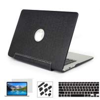 RYGOU MacBook Air 13 inch Case with Keyboard Cover Screen Protector Compatible for(2010-2017 Older Version) 13 inch MacBook Air Model:A1369 A1466, not fit New MacBook air 13 inch 2018