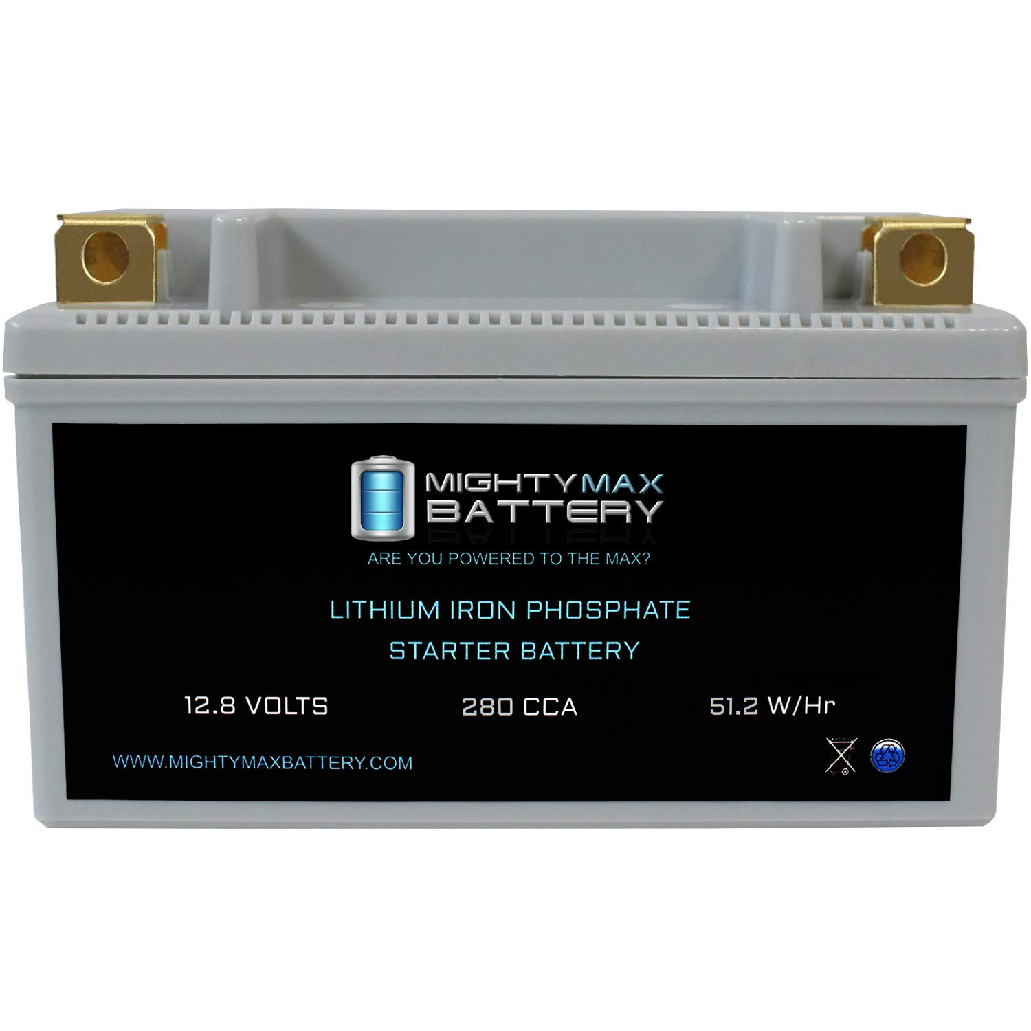 Mighty Max Battery YTX14-BS Lithium Battery Replacement for Buell XB9R Firebolt 02-2009 Brand Product