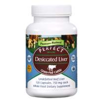 Perfect Perfect Desiccated Liver - 120 Capsules (Pack of 2)