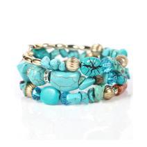 NOVADAB Boho Beads Bracelet for Women and Girls