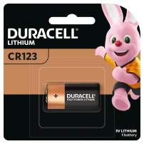 Duracell – 123 3V Lithium Photo Size Battery – long lasting battery – 1 count