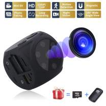USB Hidden Camera - Spy Camera Wireless Hidden - Mini Camera(No WiFi) - 1080P Portable Small Camera with Night Vision and Motion Detective, Security Camera Surveillance Camera Nanny Cam for Car HOM