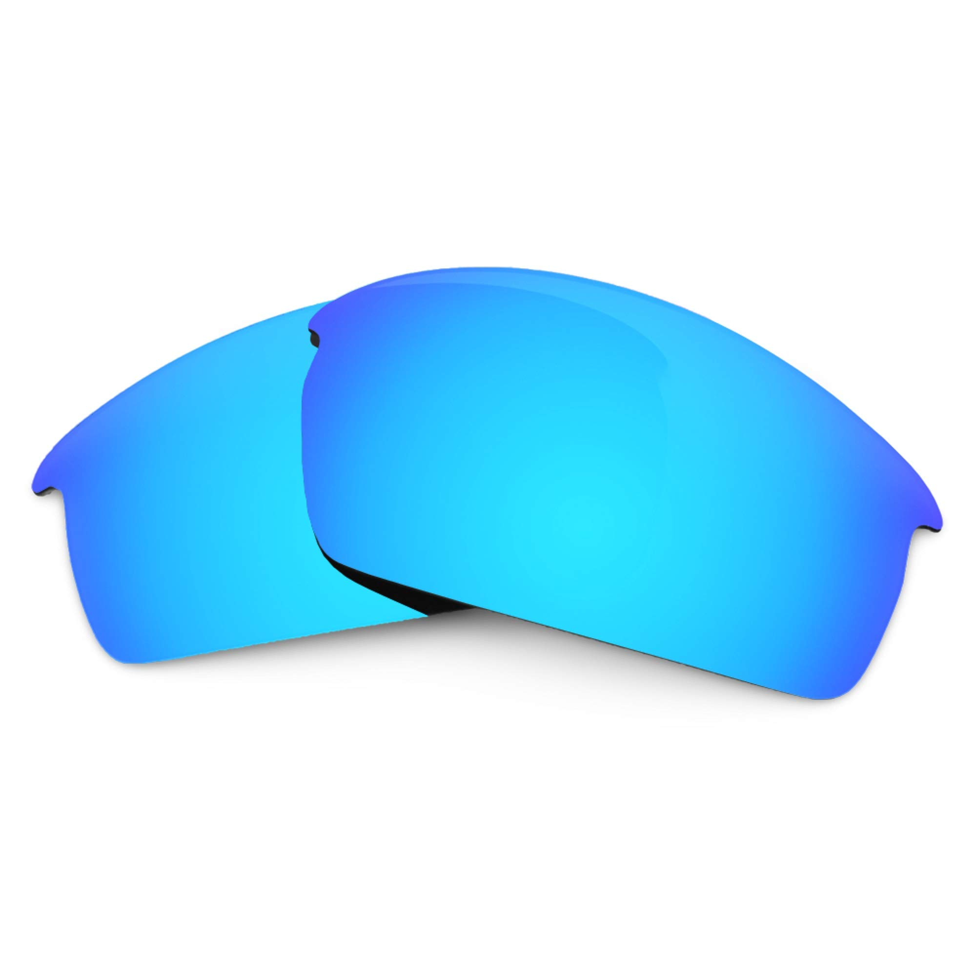 Revant Replacement Lenses for Oakley Thump Pro, Polarized, Ice Blue MirrorShield