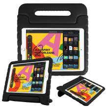 """Fintie Case for iPad 7th Generation 10.2"""" 2019 - Kids Friendly Light Weight Shock Proof Convertible Handle Stand Kids Cover, Compatible w/iPad Air (3rd Gen) 10.5"""" 2019, iPad Pro 10.5"""" 2017 - Black"""
