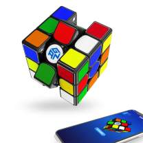 GAN 356i Play Stickered, 3x3 Smart Cube Intelligent Tracking Timing Movement Step Speed Cube 3x3x3(Robot not Included)