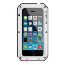 MetaliPhone 8 Plus Case, 7 Plus Phone Case 5.5 Inch LIGHTDESIRE Aluminum Protective Extreme Water Resistant Shockproof Military Bumper Heavy Duty Cover Shell - Silver