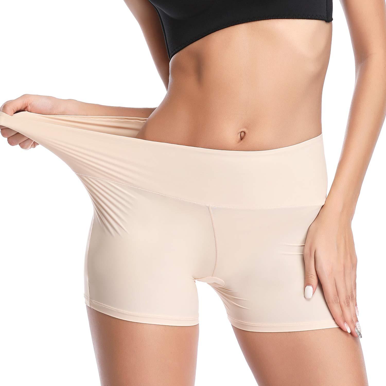 Joyshaper Slip Shorts for Under Dresses Womens Anti-Chafing Boyshort Underwear Safety Shorts