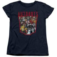 Transformers Autobot Collage Women's T Shirt & Stickers