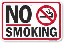 """No Smoking"" Sign By SmartSign 