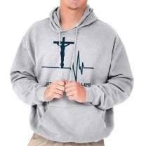 Jesus Saved My Life God Christian Sacrifice Hoodie