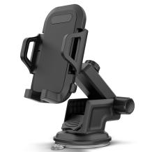 Maxboost DuraHold Series Car Phone Mount for iPhone 11 Pro Max Xs XR X 8 7 Plus SE,Galaxy S20 Ultra S10 S10+ S10e,Note 10,LG,Huawei,Pixel,Moto[Washable Sticky Gel Pad/Extendable Holder Arm (Upgrade)]