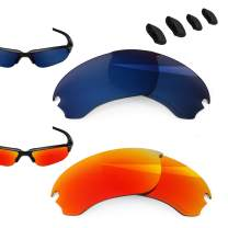 BlazerBuck Polarized Replacement Lenses for Oakley Flak Draft OO9364-2 Pairs