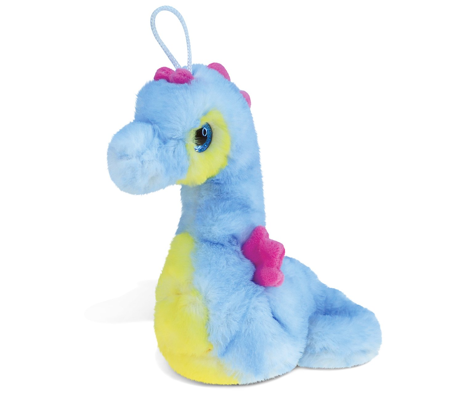 Puzzled Blue Seahorse Super-Soft Stuffed Plush Cuddly Animal Toy - Ocean Life Theme - 8.5 INCH - Unique Huggable Loveable New Friend Gift - Item #5376